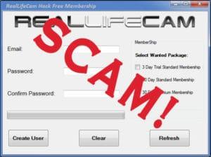 real life cam membership